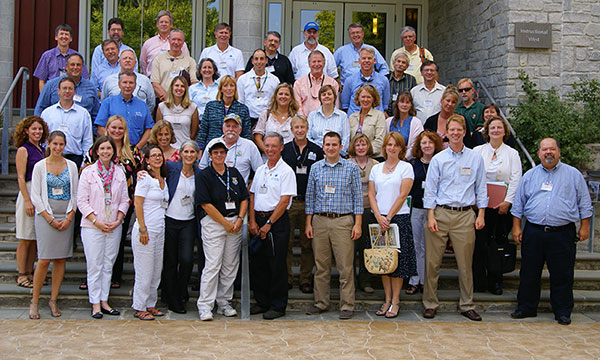 Participants in the 2012 Large Landscape Workshop.