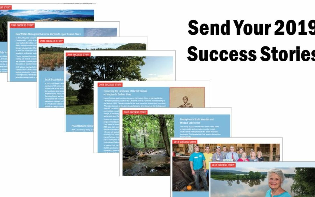 Send Us Your 2019 Success Story Suggestions