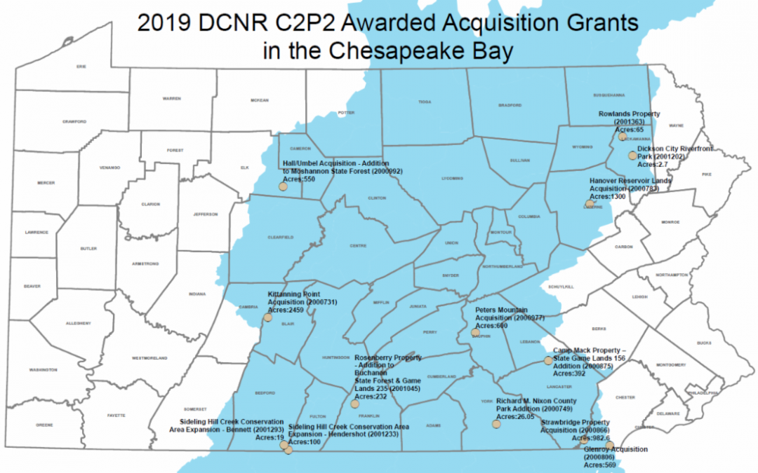 New Pennsylvania Investments in Land Protection